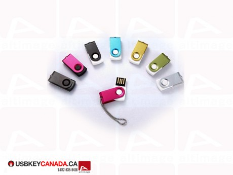Custom mini colored USB Key