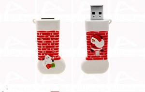 Custom santa sock usb key