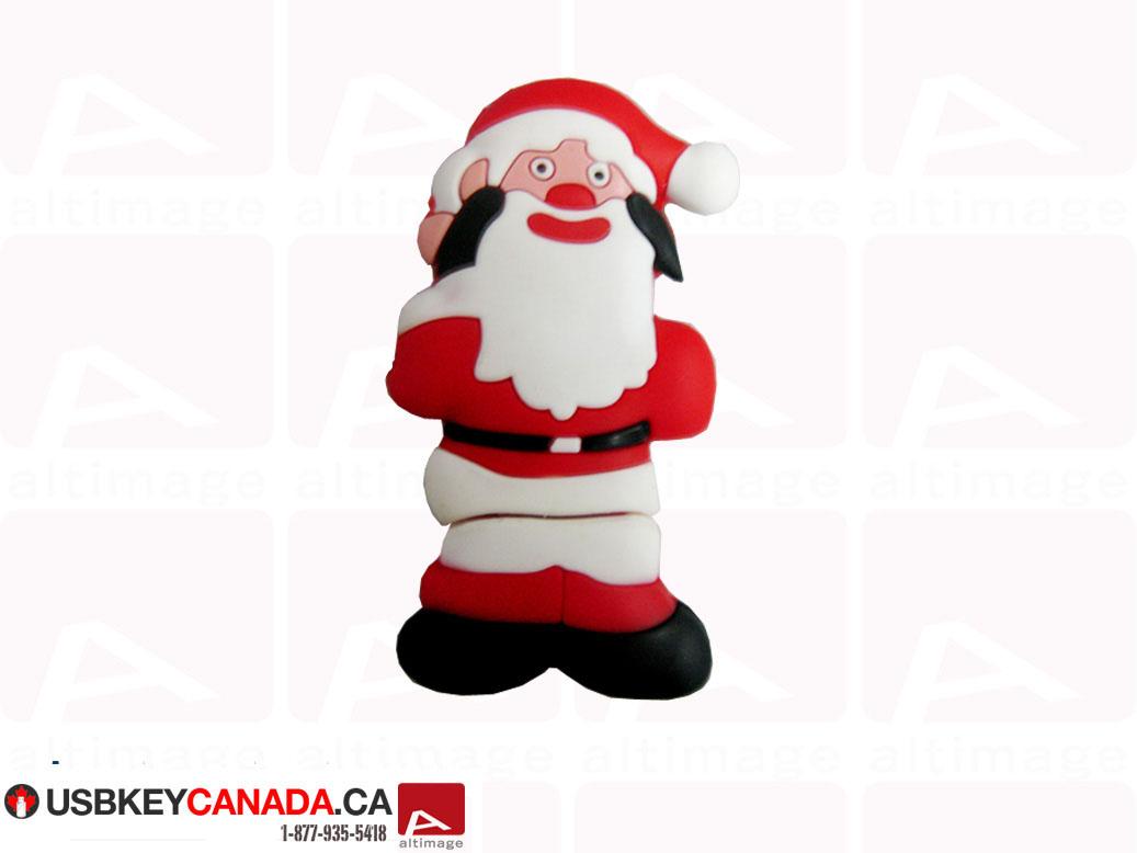 Custom Santa Claus usb key