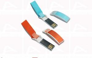 Custom curved colored usb key