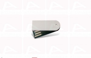 Custom small white usb key