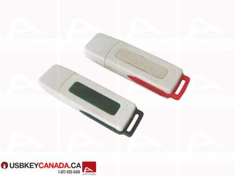 Custom white and colored usb key