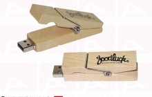 Clothespin usb key