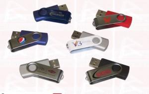 Custom slide colored usb key