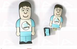 Cartoon character usb key