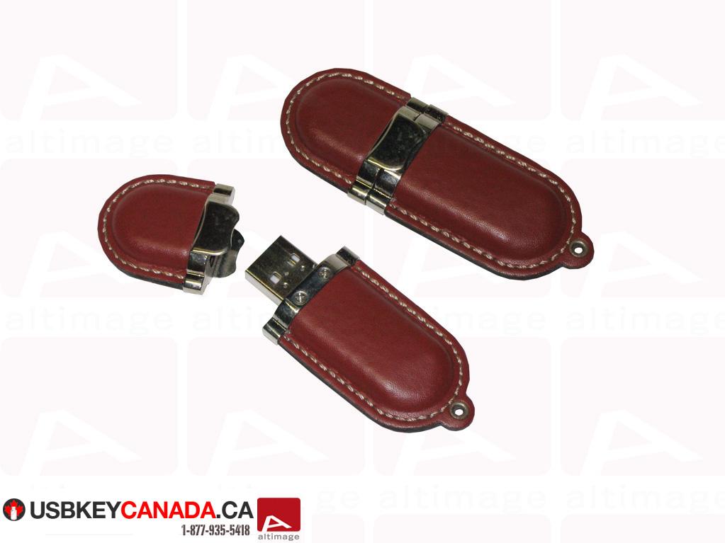 Custom leather usb key