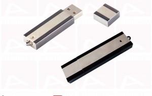 Custom silver usb key