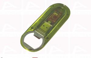 Bottle-opener usb key