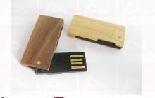 Custom usb key wood slide