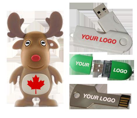 Custom USB Canada Selection