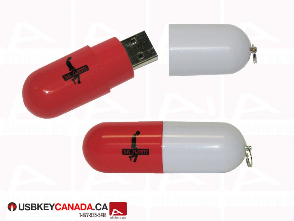 The Skinney USB pill project