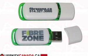 Custom usb key FibreZone