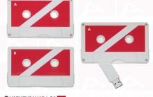 Custom usb key tape