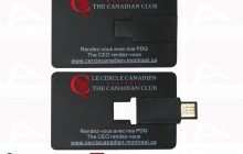 Black usb card custom