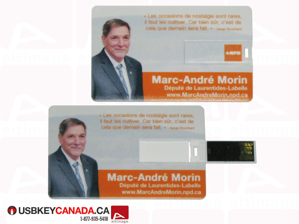 Custom usb card plastic