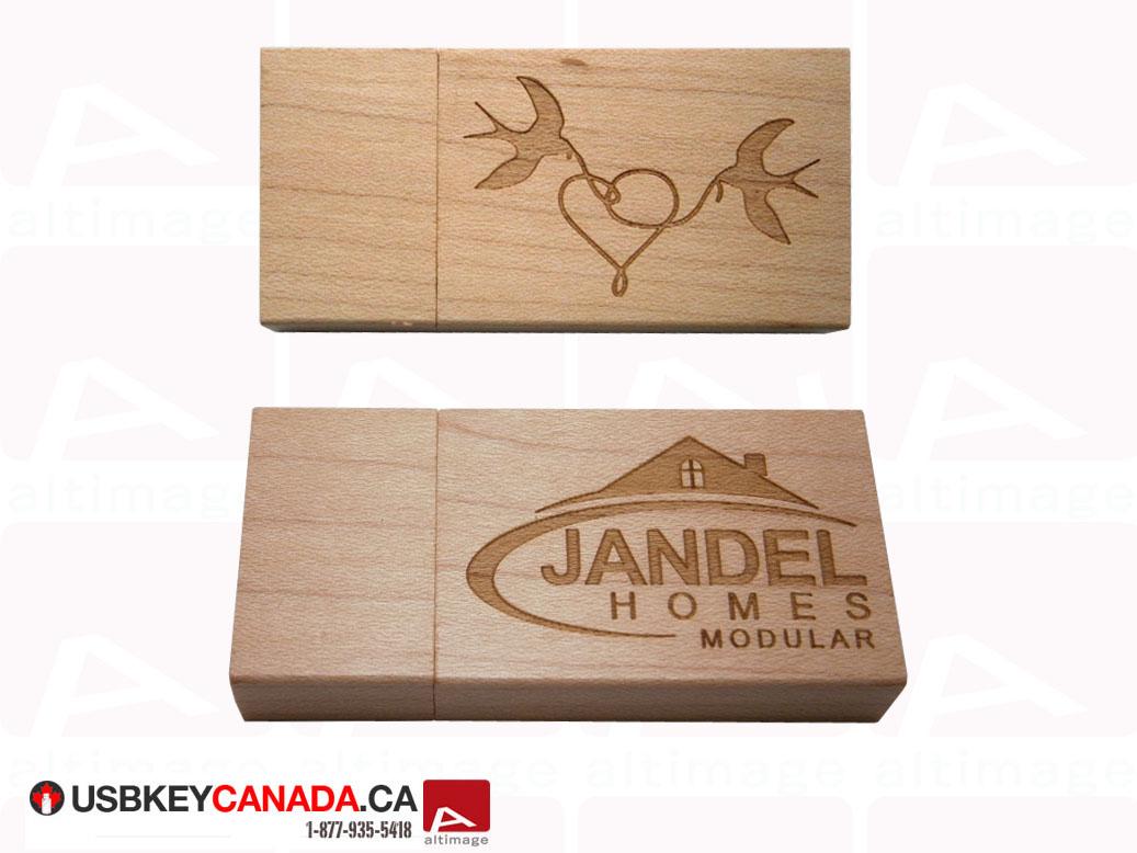 Custom usb key Jandel