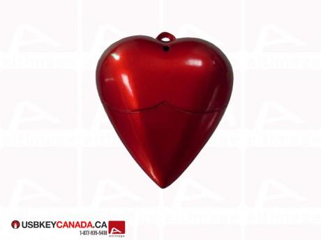 Custom heart USB Key