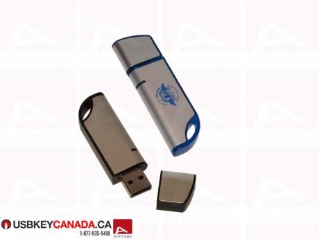 Custom basic bimaterial Flash Drive