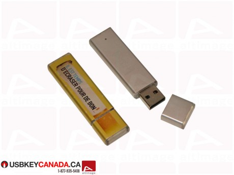 Custom USB Key bimaterial